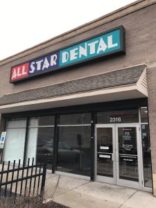 All Star Dental entrance