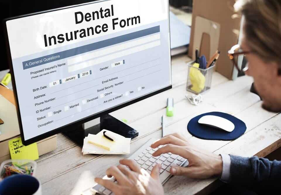 A person looking if a dental office accepts their insurance