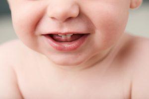 An image of baby teeth